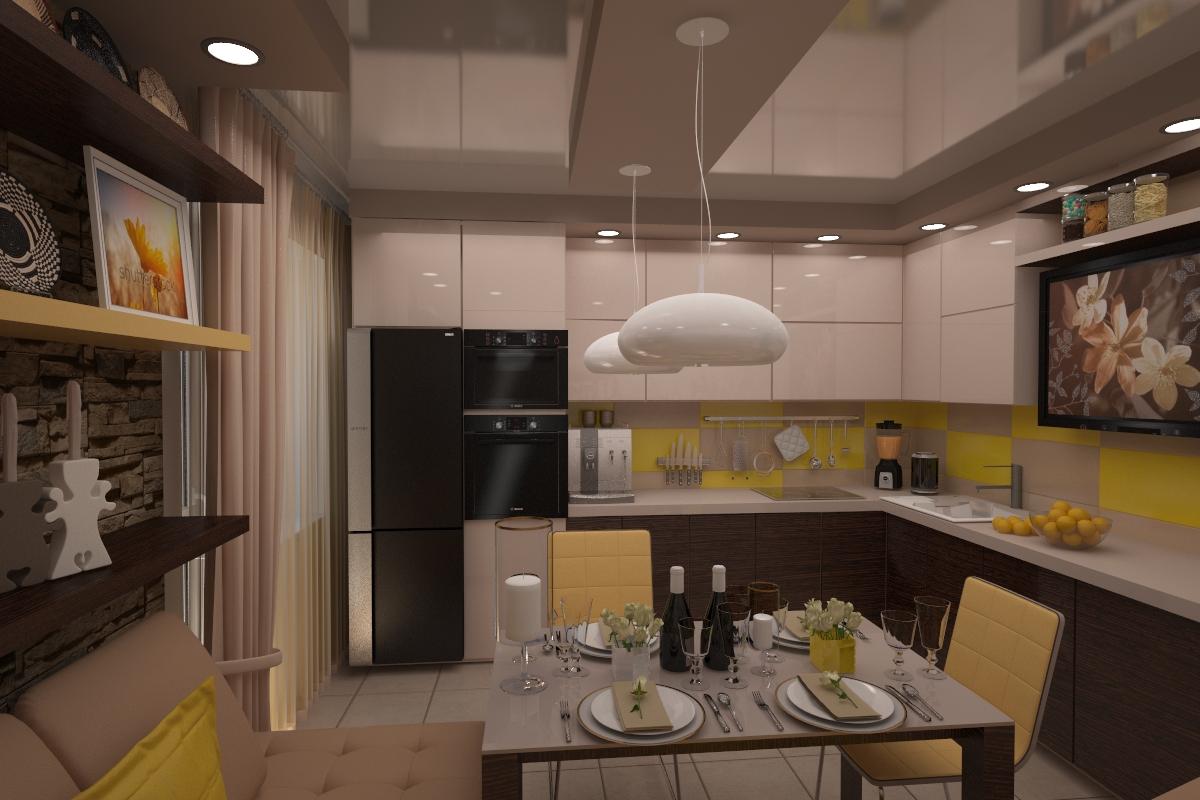 кухня дизайн проект