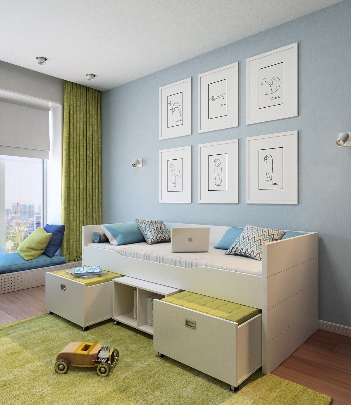 coordinating-wall-art-for-kids
