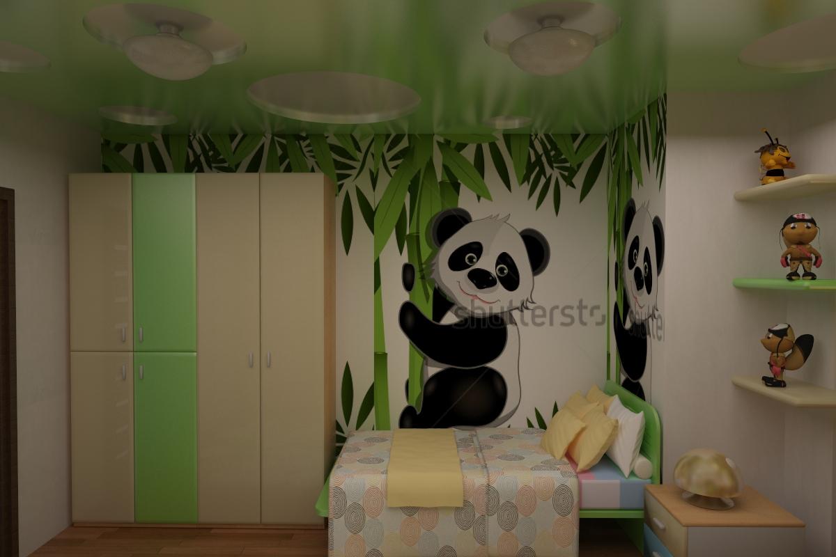 детская панда