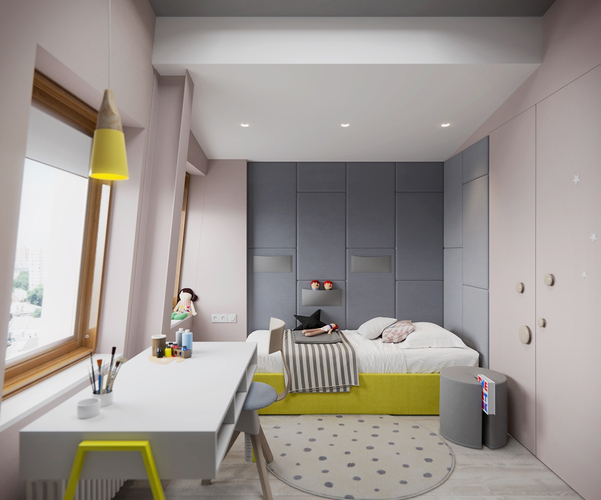 mauve-kids-room-walls
