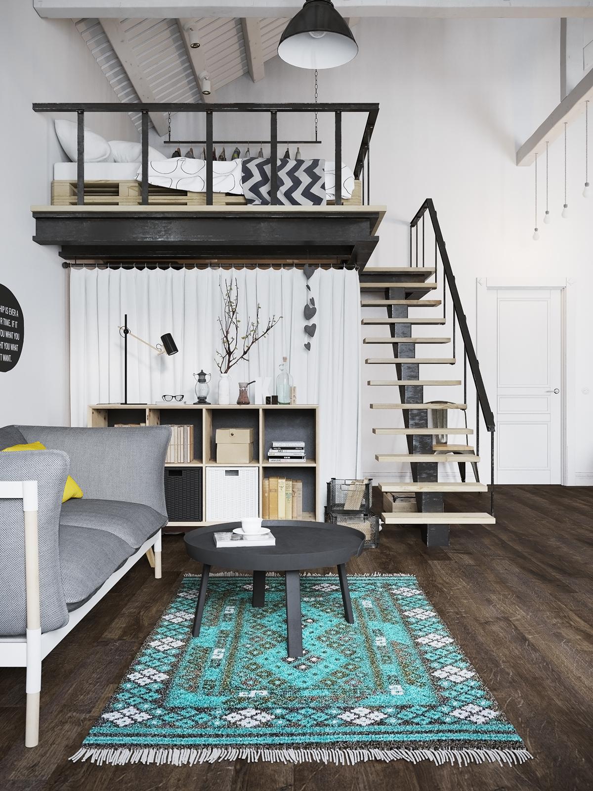lofted-bedroom-design