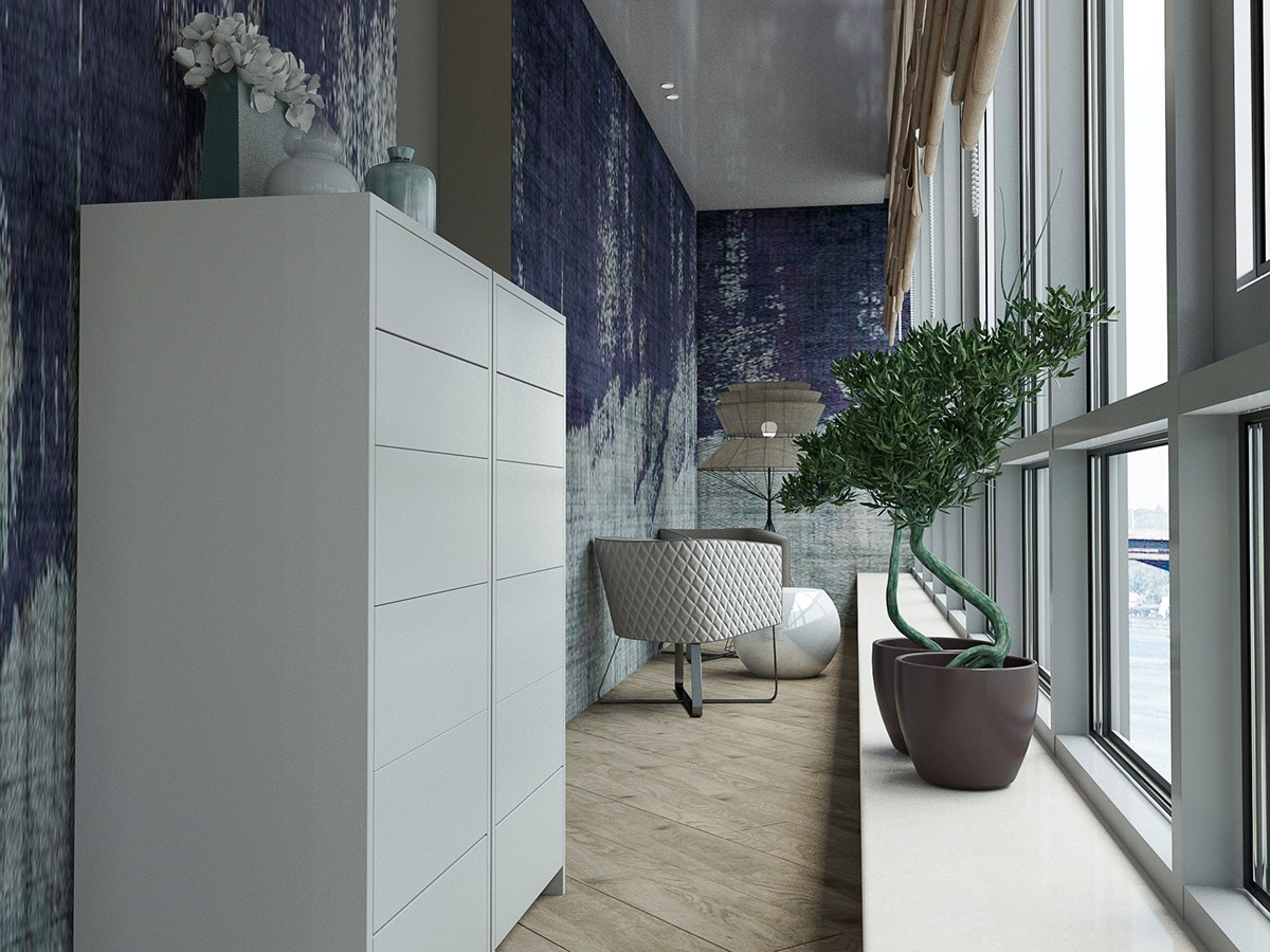 textured-violet-wall-ideas
