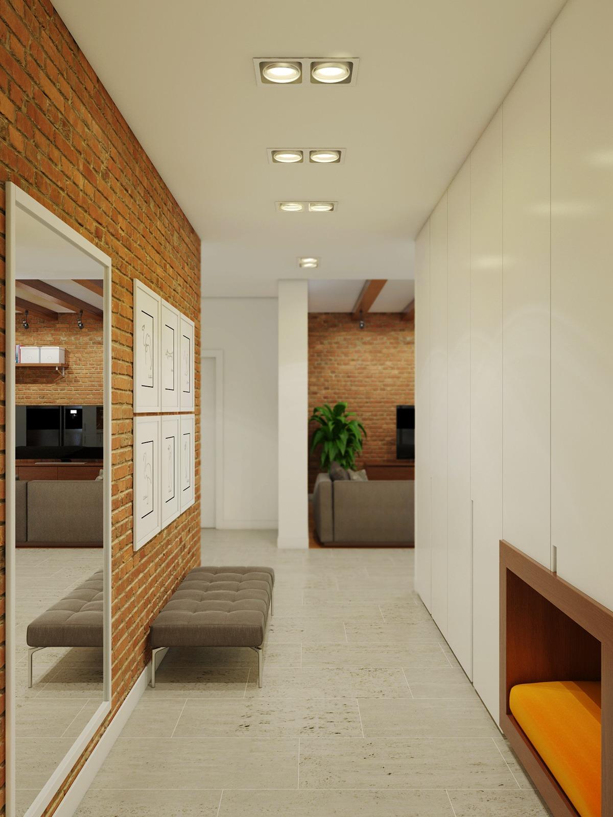 brick-hallway-decor