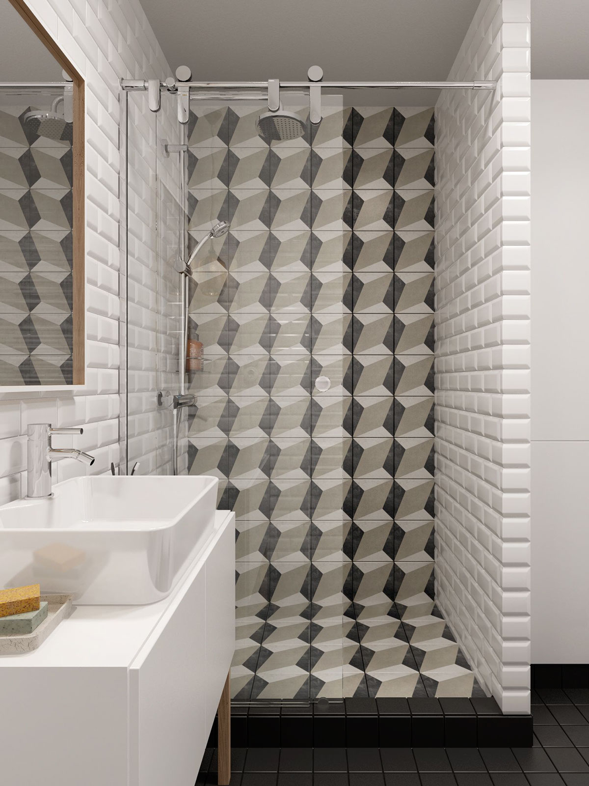 cool-tiled-shower